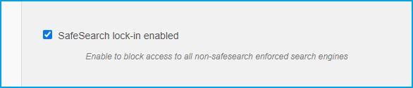 sslock SafeSearch Lock-in