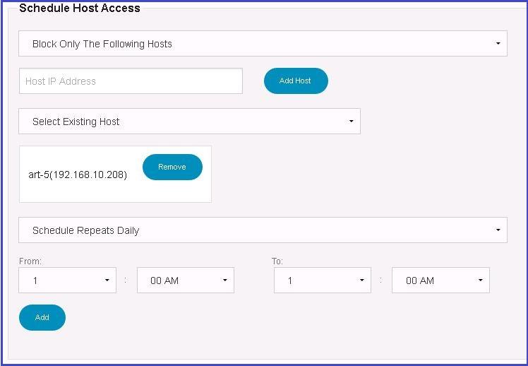 net_schedule_myfilter Schedule Internet Access