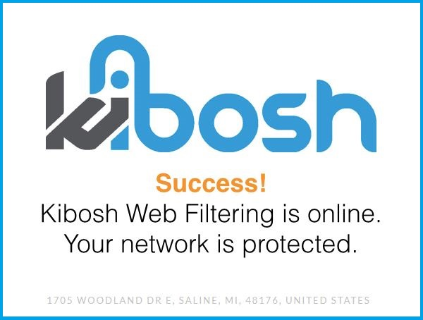 success_kibosh How to test the Kibosh Filter.