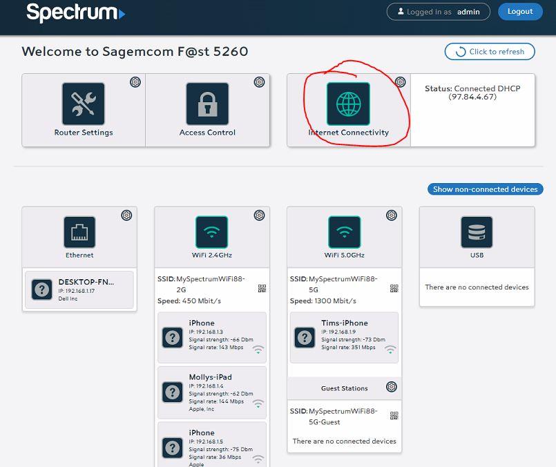 spectrum1 Spectrum Router