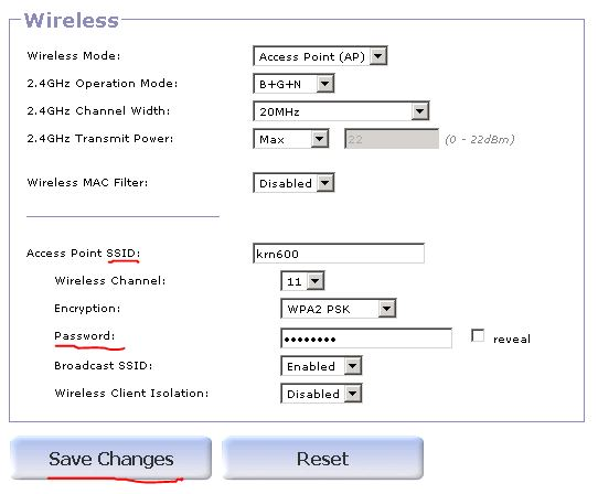 ssid-1 How to change SSID.