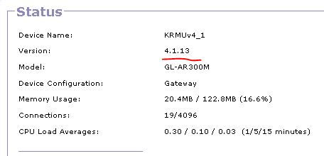 krmuversion How to find the version of KRMU installed.